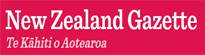 New Zealand Gazette