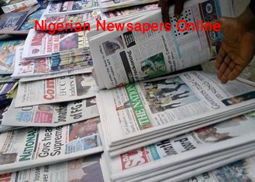 All Nigerian newspapers online