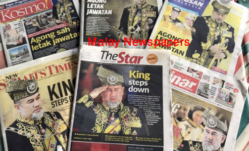Malay online newspapers world wide